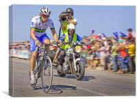 Tour Down Under - Stage 5 Leader, Canvas Print