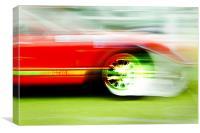 GT40 - just a blur, Canvas Print