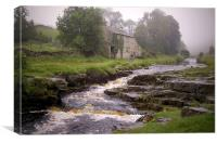 Misty Day (in the Yorkshire Dales), Canvas Print
