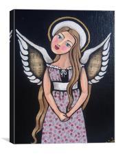 """ My Angel "", Canvas Print"