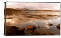 Auchencairn Bay, Canvas Print