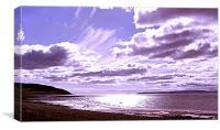 Blackwaterfoot Beach, Canvas Print