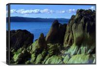 Shore at Imachar, Canvas Print
