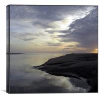The Estuary, Canvas Print