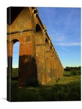 Viaduct In The Sun, Canvas Print