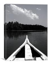 Kerala Backwaters, Canvas Print