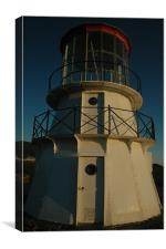 Cape Mendocino Lighthouse, Canvas Print