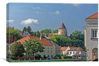 Altstadt von Krems, Canvas Print