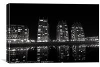 The Towers At Salford Quays, Canvas Print