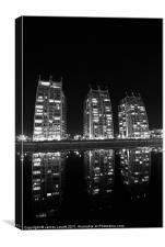 Salford Quays Towers, Canvas Print