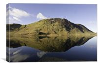 The Tranquility Of Crummock Water, Canvas Print
