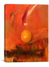 Oil Painting - Orange, Canvas Print