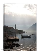 Perast Morning, Canvas Print