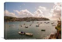 Fowey Estuary, Canvas Print