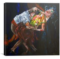 Lost In Dance, Canvas Print