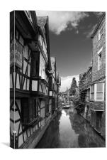 Canterbury Stream, Canvas Print