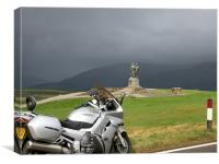 Spean Bridge Commando Memorial, Canvas Print