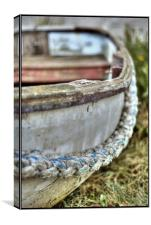 Boat Rope, Canvas Print