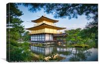 Kinkaku-ji Golden Pavilion Kyoto Japan            , Canvas Print