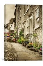 Cobblestones, Canvas Print