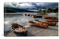 Lake Windermere, Canvas Print
