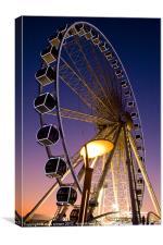 Brighton Big Wheel, Canvas Print