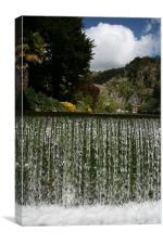 cheddar gorge, Canvas Print
