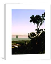 Sunset over San Francisco, Canvas Print