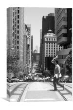 streets of San Francisco, Canvas Print