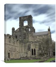 The Abbey that Once Was, Canvas Print