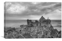 Dunluce Castle, Canvas Print