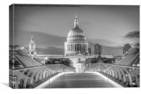 St Pauls London, Canvas Print