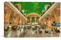Grand Central Station NYC, Canvas Print