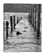 Ullswater of Bygone Days, Canvas Print
