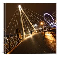 London Night Lights, Canvas Print