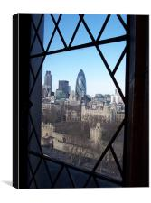 Window over London