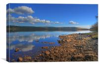 Kielder Reservoir, Canvas Print