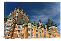 Chateau Frontenac, Canvas Print