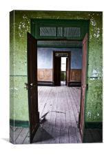 Open doors, Canvas Print