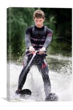 Water Ski, Canvas Print