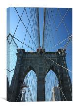 Brooklyn Bridge, Canvas Print