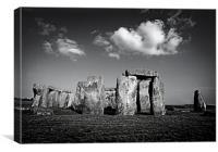 Stonehenge., Canvas Print