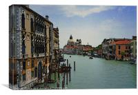 Venice Grand Canal, Canvas Print