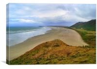Rhossili Beach,South Wales.1
