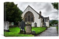 Fortingall Church, Canvas Print