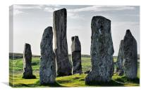 The Silent Witnesses of Callanish, Canvas Print