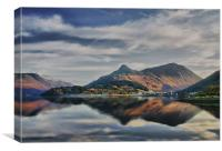 The Pap of Glencoe Scotland, Canvas Print
