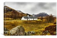 Blackrock Cottage Late Winter, Canvas Print
