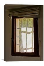 Window Shadow Patterns, Canvas Print