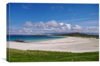 Beach on the Isle of Lewis, Canvas Print